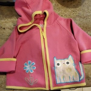 Hanna Andersson Cat Jacket & Pants size 80